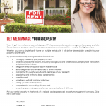 Let me manage your property