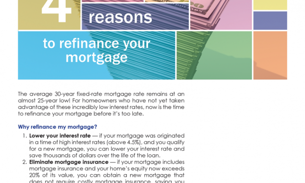 FARM: 4 reasons to refinance your mortgage