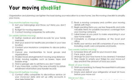FARM: Your moving checklist