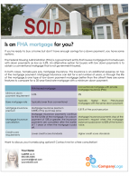 FARM: Is an FHA mortgage for you?
