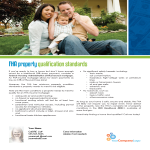 FHA property qualifications