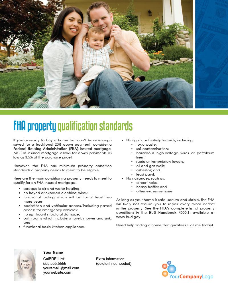 FHA-Standards