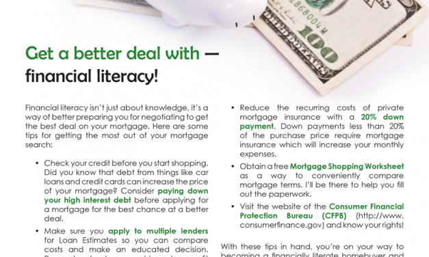 FARM: Get a better deal with — financial literacy!