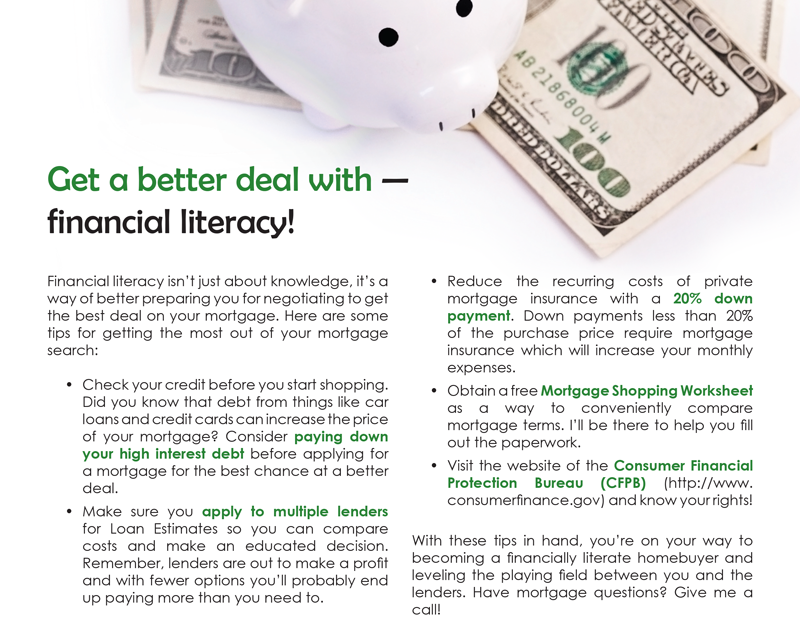 Farm Get A Better Deal With Financial Literacy First Tuesday