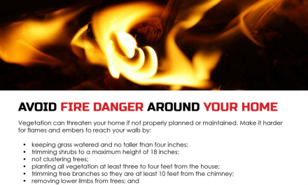 FARM: Avoid fire danger around your home