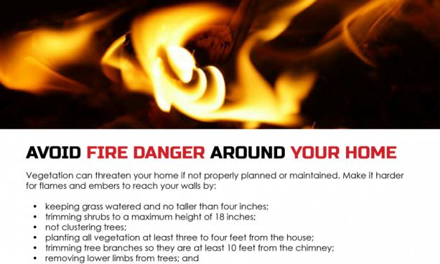 FARM: Avoid fire danger around your home
