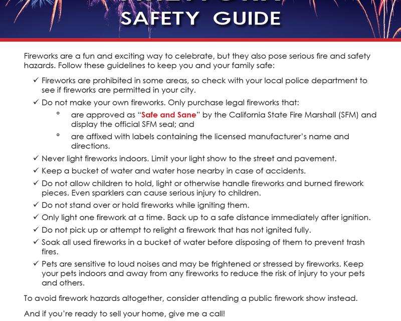 FARM: Firework safety guide