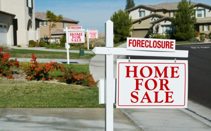 Foreclosures fall, set to rise