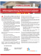 Client Q&A: What happens during the foreclosure process?