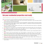 Get residential properties rent ready