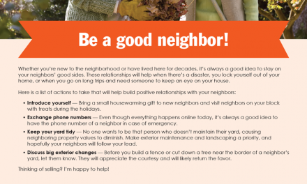 FARM: Be a good neighbor!