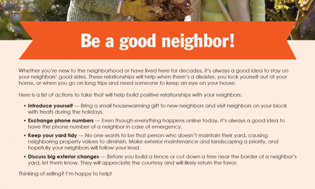 FARM: Be a good neighbor!