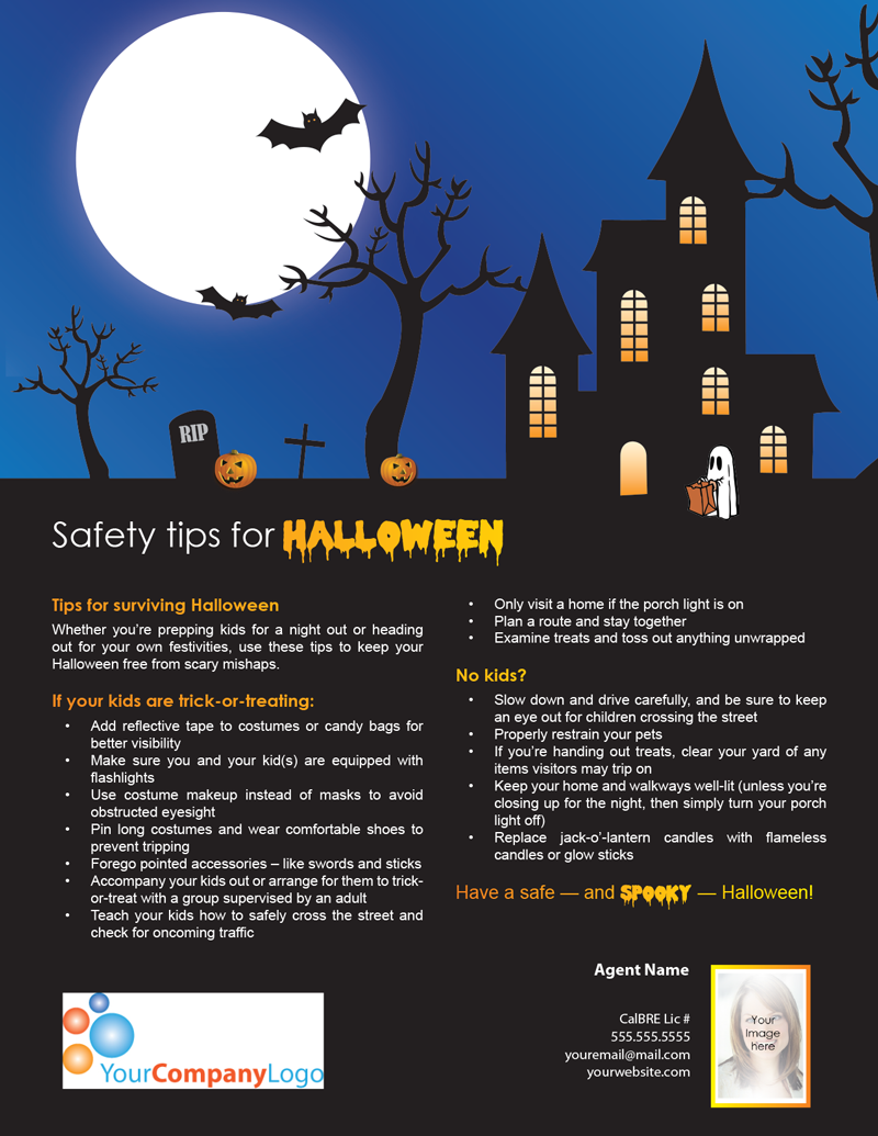FARM: Safety tips for Halloween   first tuesday Journal