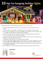 FARM: 10 tips for hanging holiday lights