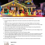 10 tips for hanging holiday lights