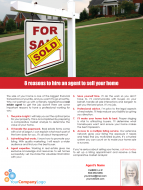 FARM: 8 reasons to hire an agent to sell your home