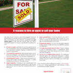 Reasons to hire a seller's agent