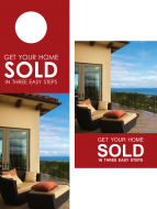 FARM: Get your home sold Beach – Post card & Door Hanger