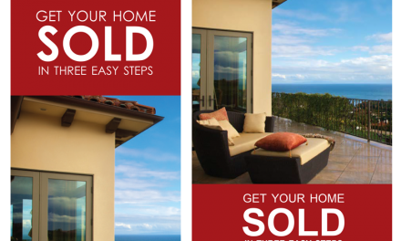 FARM: Get your home sold (Beach) – Post card & Door Hanger