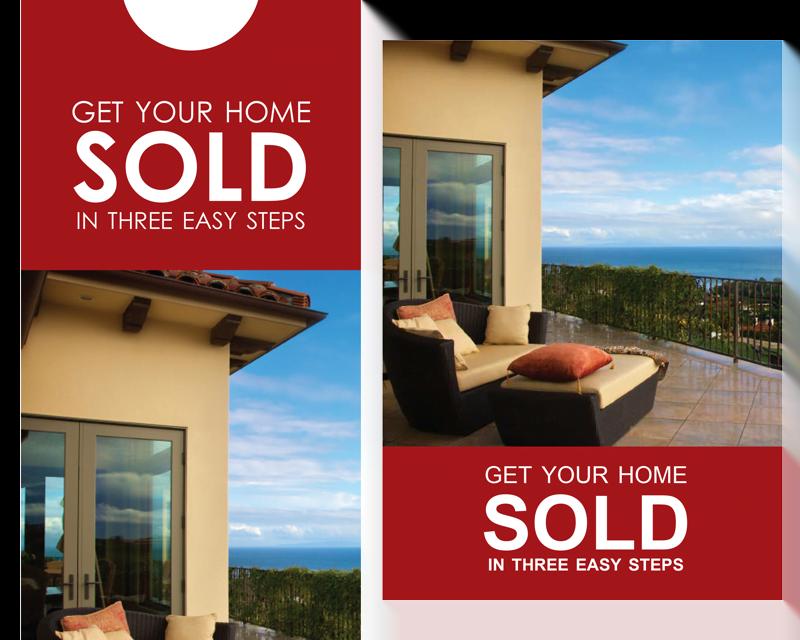 FARM: Get your home sold (Beach) – Post card & Door Hanger