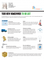 FARM: Your New Homeowner To-Do List