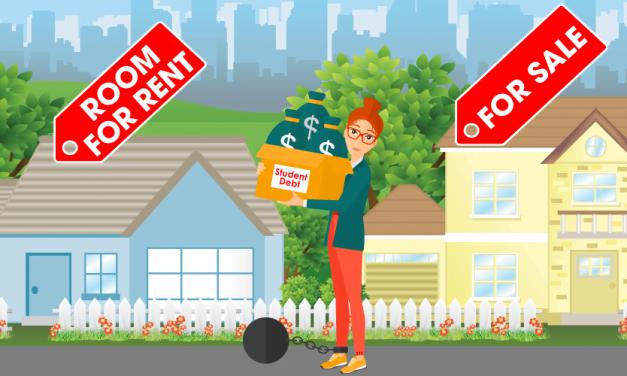 Student debt weighs down the housing market