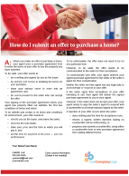 Client Q&A: How do I submit an offer to purchase a home?