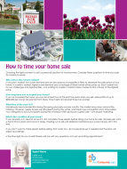 FARM: How to time your home sale