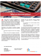 Client Q&A: What are discount points?
