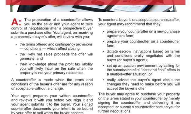 Client Q&A: How do I negotiate a counteroffer?