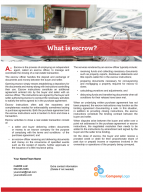 Client Q&A: What is escrow?