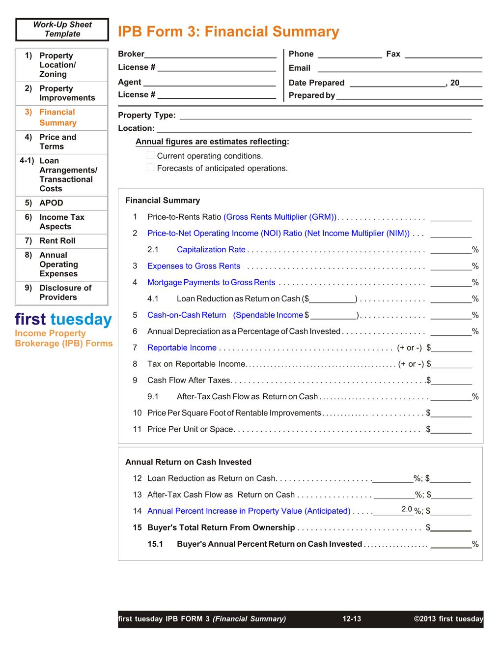 IPB-Financial-Summary
