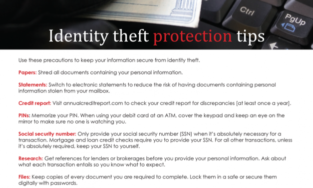 FARM: Identity theft protection tips