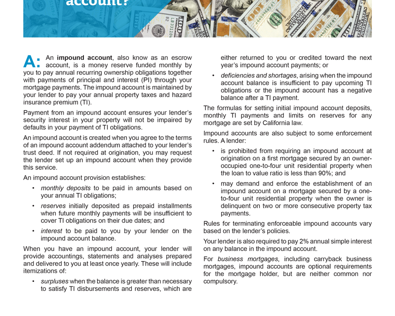 Client Q&A: What is an impound account?