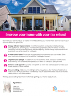 FARM: Improve your home with your tax refund