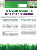 FARM: A quick guide to irrigation systems