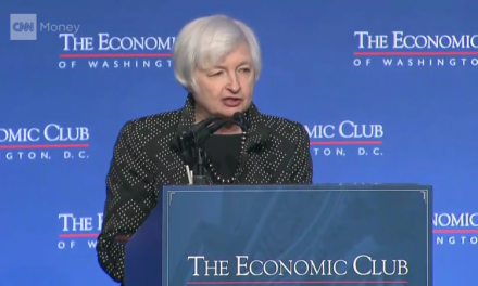 "Janet Yellen: ""Monetary policy will remain accommodative"""