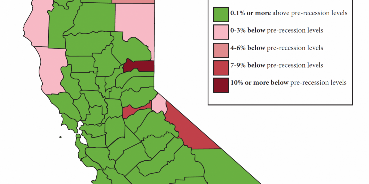 Mapping the jobs recovery