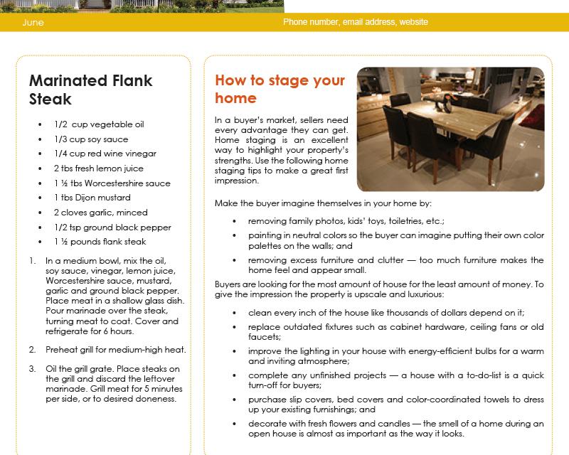FARM: June Newsletter – D1