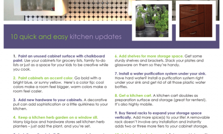 FARM: 10 Quick and Easy Kitchen Updates