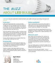 FARM: The buzz about LED bulbs
