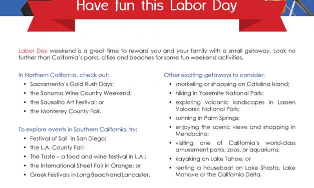FARM: Have fun this Labor Day