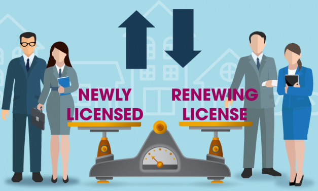 Sales agent license renewals decline in 2020