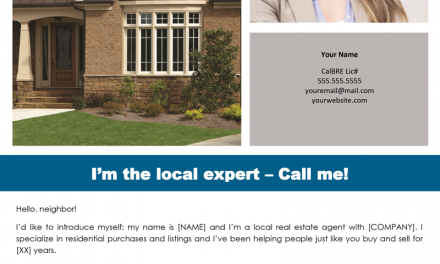 FARM: I'm the local expert – call me!