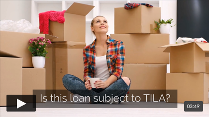 Mortgage Concepts: Is it covered by TILA?
