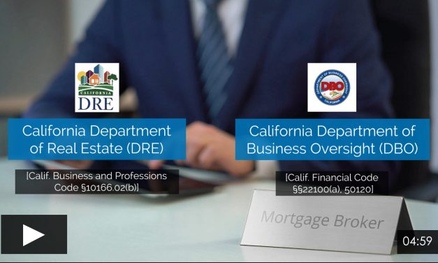 Mortgage Concepts: California MLO licensing laws
