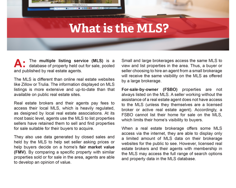 Client Q&A: What is the MLS?