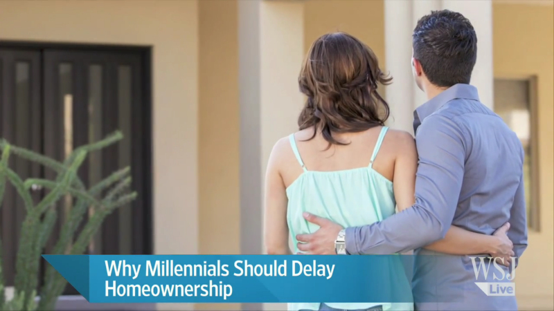 When Millennials need to delay homeownership