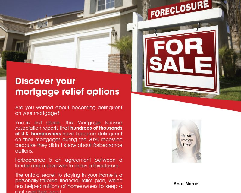 FARM: Discover your mortgage relief options
