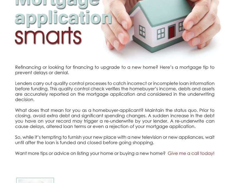 FARM: Mortgage application smarts